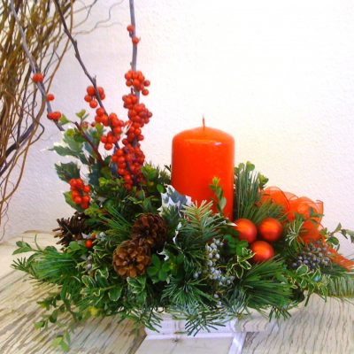 tidings of joy holiday centerpiece