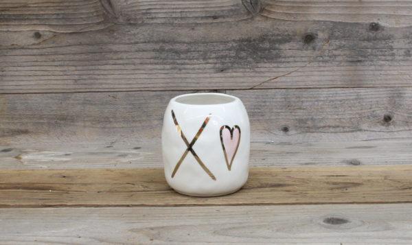Hugs N Kisses vase