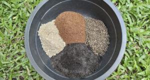 Soil for plants